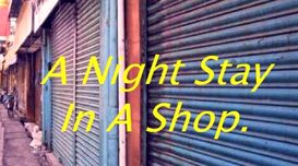 'A Night Stay In A Shop.'