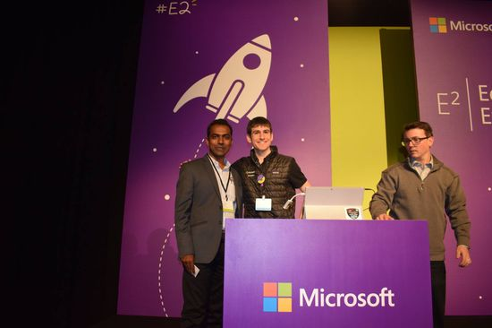 Rajnitesh at Microsoft Conference
