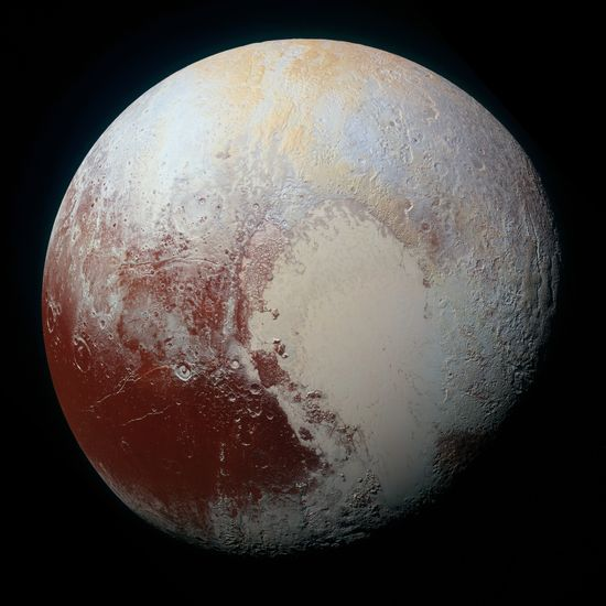 pluto hasn't made a full orbit