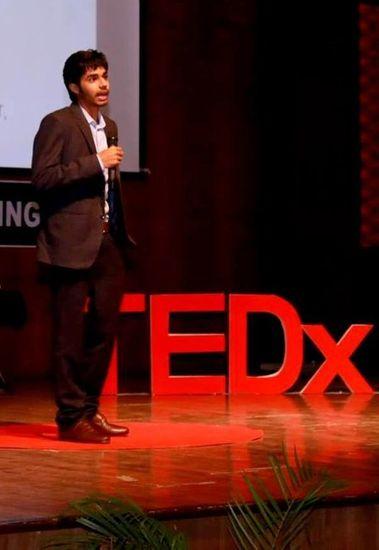 Trishnet Arora at TEDx