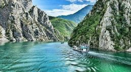 A tour to Komani Lake  Albania