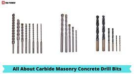 Carbide Masonry Concrete Drill Bits