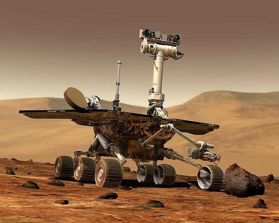 space exploration robot