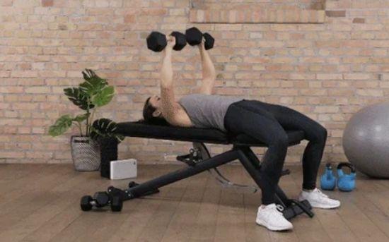 Regular chest press