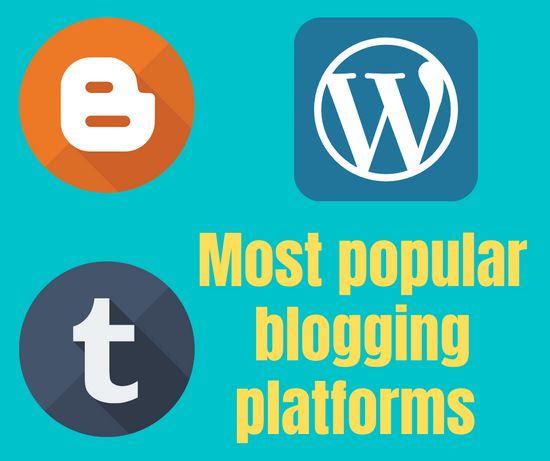 most popular blogging platforms