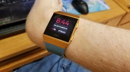 Fitbit Ionic smart watch  (Is the m...