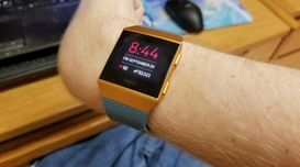 Fitbit Ionic smart watch  (Is the most expensive Fitbit wrist watch worth it?)