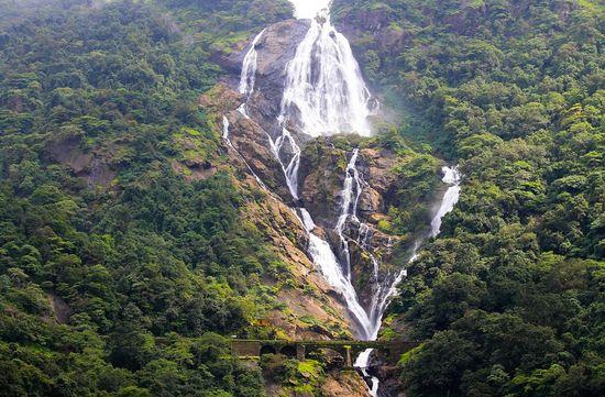 DUDHSAGAR WATERFALLS