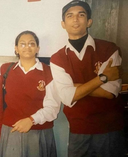 sushant singh rajput in school days