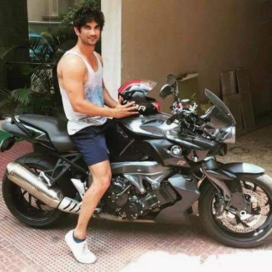 sushant singh rajput bike