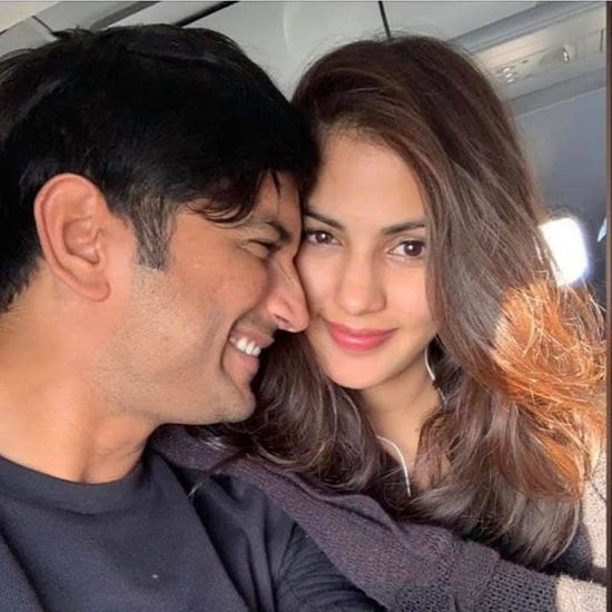 sushant singh rajput and rhea chakroborty