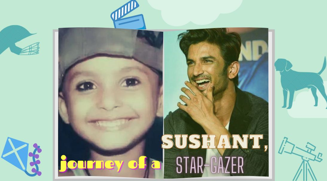 sushants life journey