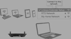 Linksys RE6350 Setup WPS Process