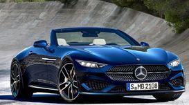 Mercedes-Benz gives an interior vie...