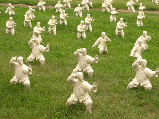 shaolin monks in army