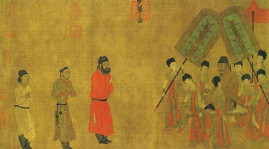 Li Shimin as the Emperor Taizong