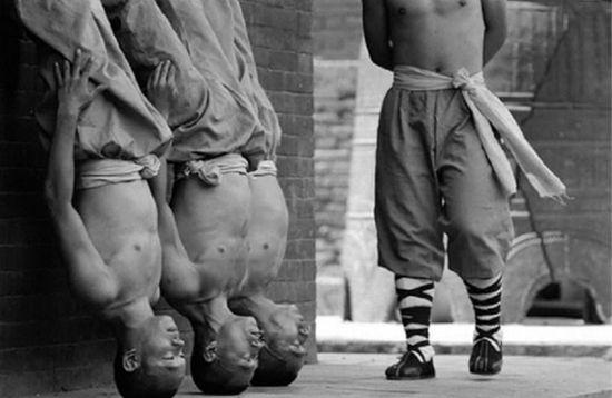 tricks of shaolin monks