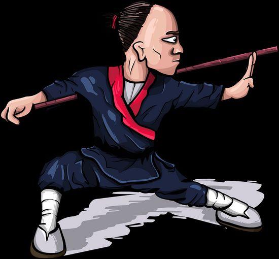 brave shaolin monks