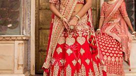 Online Shopping For Bridal Lehenga!...