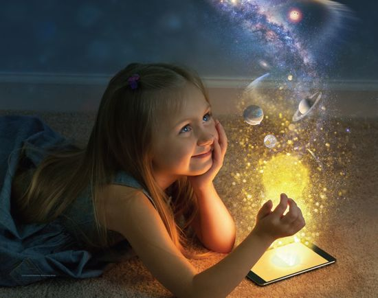 Reading helps us stimulate our imagination