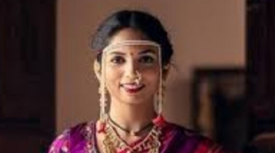 Ilaa in her marriage attire