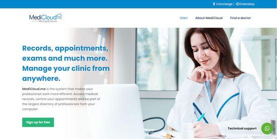 medicloud digitalisation of health record
