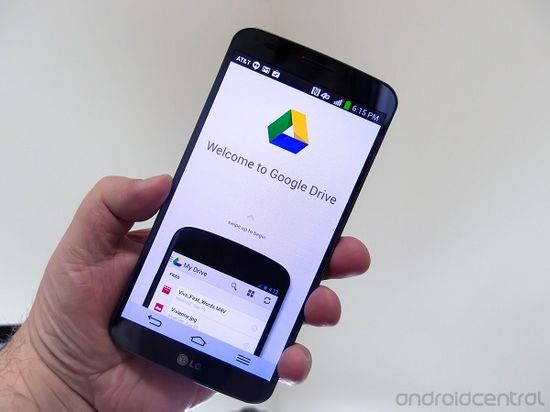Google Drive in android