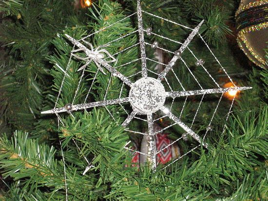 Legend of the Christmas spiders